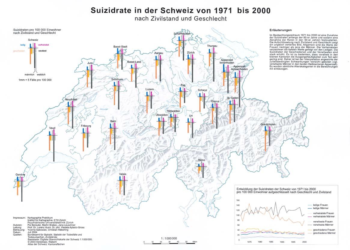 Orts- und Gebietsdiagrammkarten
